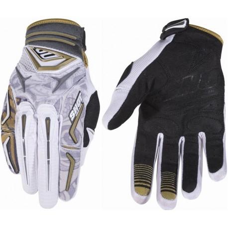 SHOT HERO MX rukavice bielo-zlaté