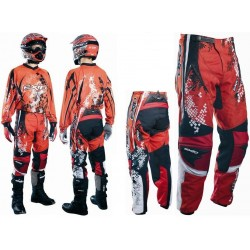 EXID DNA MX detské nohavice červené