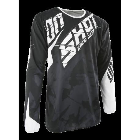 SHOT SQUAD MX dres čierny