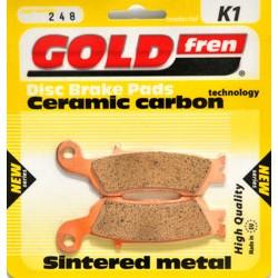 GOLDFREN brzdové obloženie K1 001-307