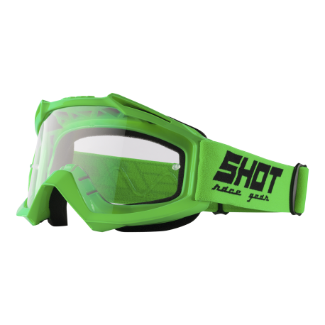SHOT ASSAULT NEON zelené MX okuliare