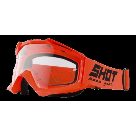SHOT ASSAULT NEON oranžové MX okuliare