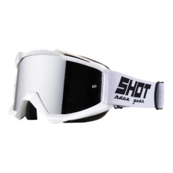 SHOT IRIS biele MX okuliare