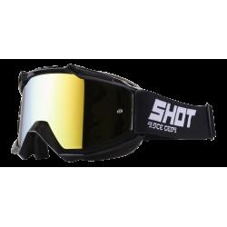 SHOT IRIS čierne MX okuliare
