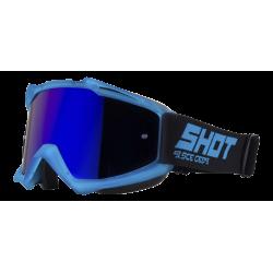 SHOT IRIS TRANSPARENT modré matné MX okuliare