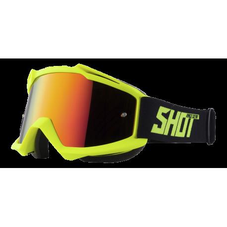 SHOT IRIS NEON žlté matné MX okuliare