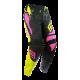 SHOT SQUAD MX nohavice ružovo/žlté neon