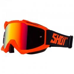 SHOT IRIS oranžové matné MX okuliare