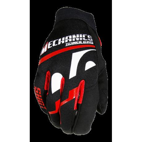 SHOT HURRICANE rukavice čierne