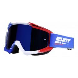 SHOT IRIS FLAG modro/červené MX okuliare
