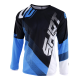 SHOT ULTIMATE MX dres čierno/modrý