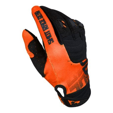 SHOT VENOM MX rukavice oranžové neon