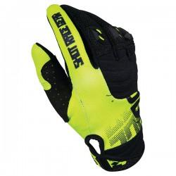 SHOT VENOM MX rukavice žlté neon