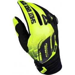 SHOT VENOM MX rukavice detské žlté neon