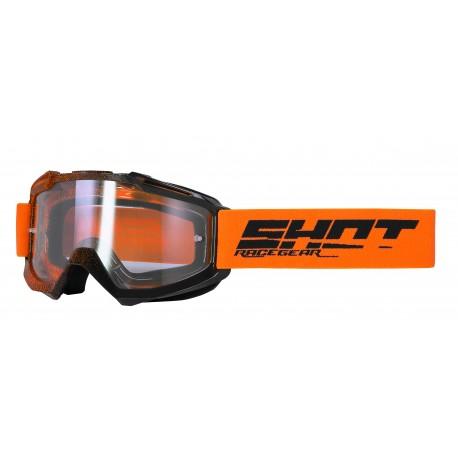SHOT ASSAULT ELIT neon oranžové MX okuliare