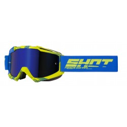 SHOT IRIS JET modro/žlté MX okuliare