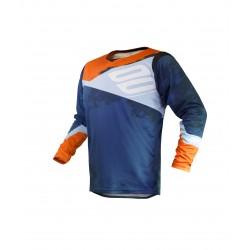 SHOT SHADOW MX dres modro/oranžový