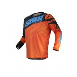SHOT VENTURY MX dres oranžovo/modrý