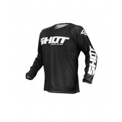 SHOT RAW MX dres čierny