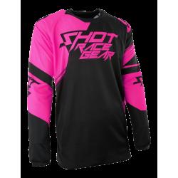 SHOT CLAW MX dres oranžový neon