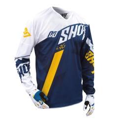 SHOT HUSQVARNA MX dres modro/žltý