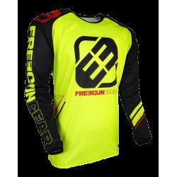 FREEGUN MX dres žltý neon