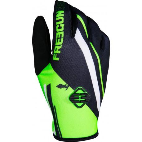 FREEGUN MX rukavice zelené neon