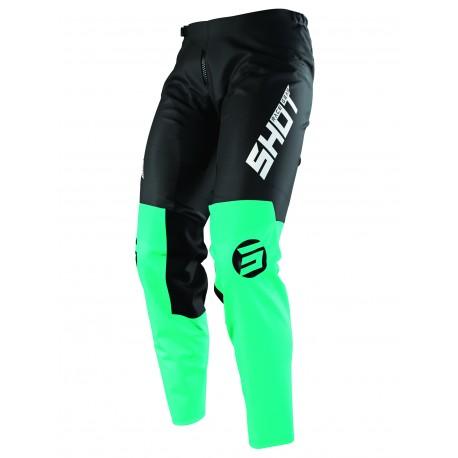 SHOT STORM MX nohavice zelené