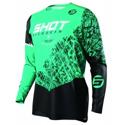 SHOT STORM MX dres zelený