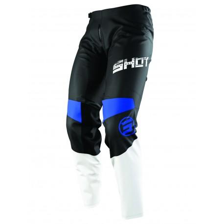SHOT SLAM MX nohavice modré