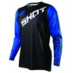 SHOT SLAM MX dres modrý