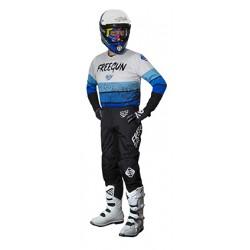 FREEGUN SPEED modrý MX komplet dres + nohavice