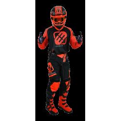 FREEGUN HONOR modro-červený MX komplet - dres + nohavice 2017