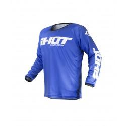 SHOT RAW MX dres modrý