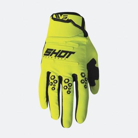 SHOT SPARK MX rukavice modré