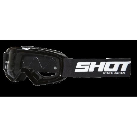 SHOT ASSAULT čierne MX okuliare
