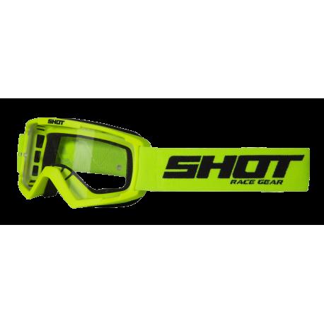 SHOT ASSAULT žlté fluo MX detské okuliare