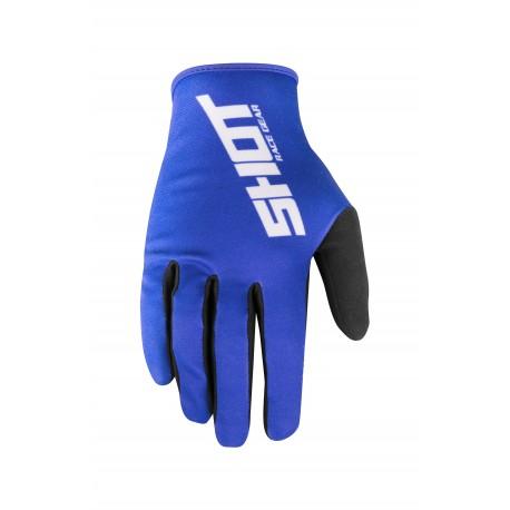 SHOT ALERT MX rukavice modré