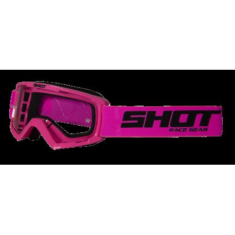 SHOT ASSAULT ružové fluo MX detské okuliare