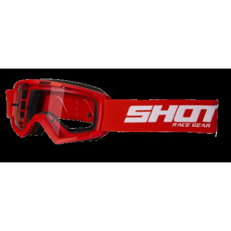 SHOT ASSAULT červené MX detské okuliare