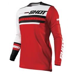 SHOT SHINING MX dres červený