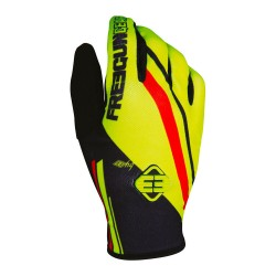 FREEGUN MX rukavice žlté neon