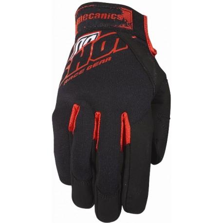 SHOT MECHANIC rukavice čierne