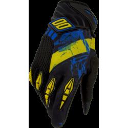 SHOT SPARK MX rukavice žlto-modré