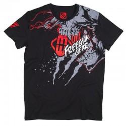 FREEGUN SCREAM tričko čierne