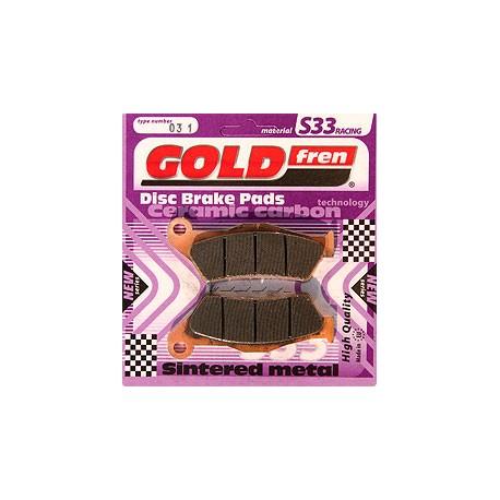 GOLDFREN brzdové obloženie S33 001-307