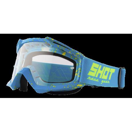 SHOT ASSAULT DROP NEON modré MX okuliare