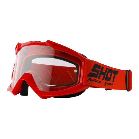 SHOT ASSAULT červené MX okuliare