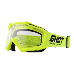 SHOT ASSAULT NEON žlté MX okuliare