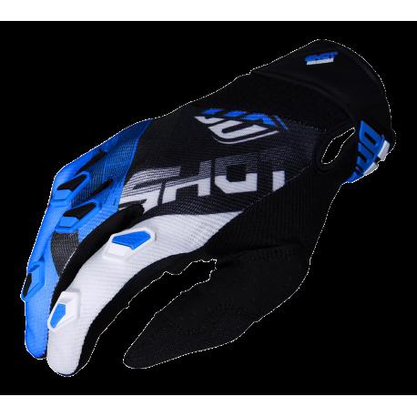 SHOT ULTIMATE MX rukavice čierno/modré